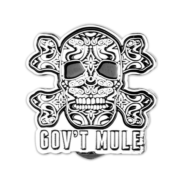 Govt Mule Gov't Mule Skull Pin