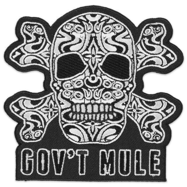 Govt Mule Gov't Mule Skull Patch