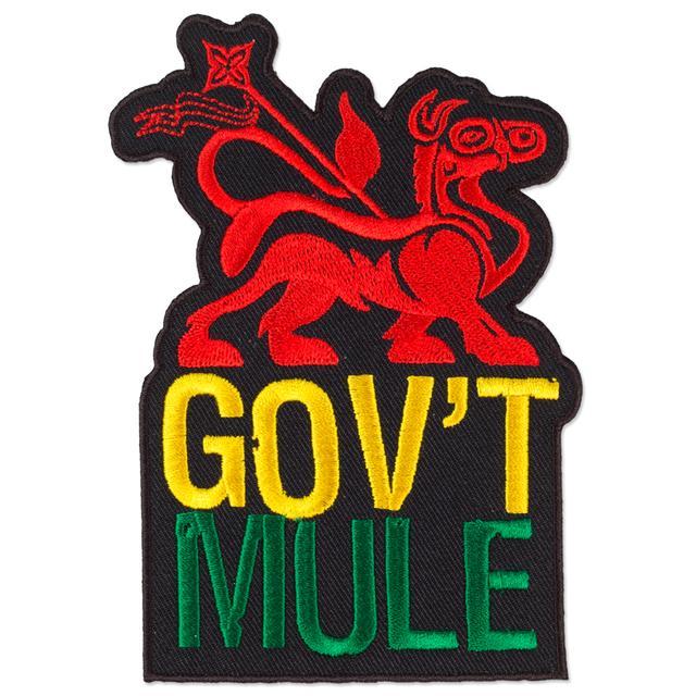 Govt Mule Gov't Mule Rasta Mule Patch