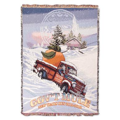Govt Mule Gov't Mule 2015-2016 New Years Run Blanket