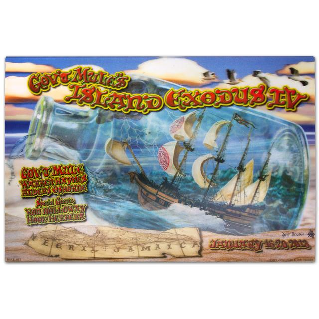 Govt Mule Gov't Mule Island Exodus IV (2013) Event Poster
