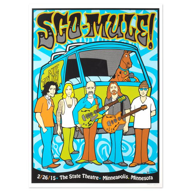 Gov't Mule February 2015 Minneapolis, State Theatre Event Poster