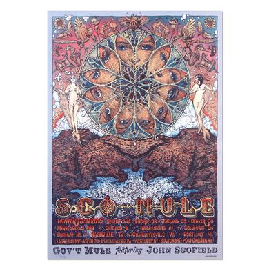 Gov't Mule Sco-Mule Winter 2015 Tour Poster