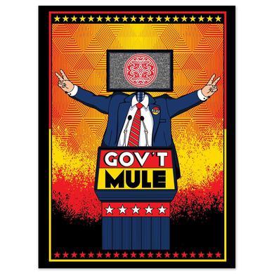 Govt Mule Screen Print Poster