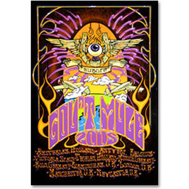 Gov't Mule 2005 Fall Tour Europe Poster