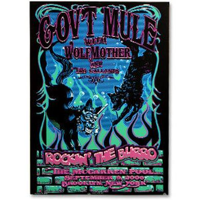 Gov't Mule 2006 McCarren Pool New York City Event Poster