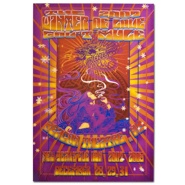 Gov't Mule 2007 New Year's Run Winter of Love Beacon Poster