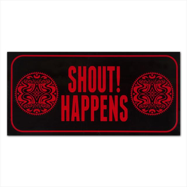 Govt Mule Shout Happens! Sticker