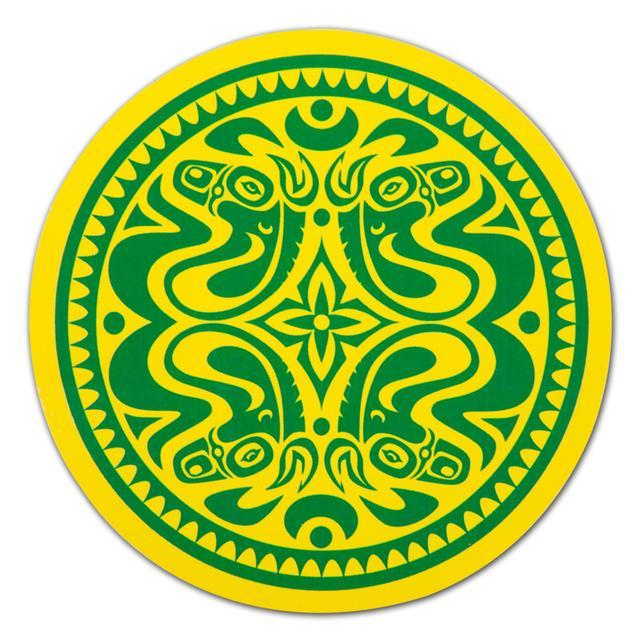 Gov't Mule Green/Yellow Dose Sticker