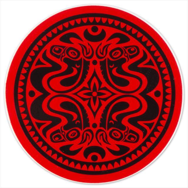 Gov't Mule Red/Black Quatro Dose Sticker