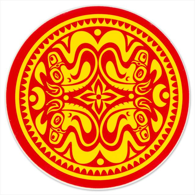 Gov't Mule Red/Yellow Quatro Dose Sticker