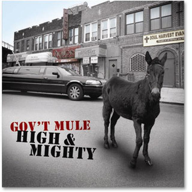 Gov't Mule - High & Mighty CD