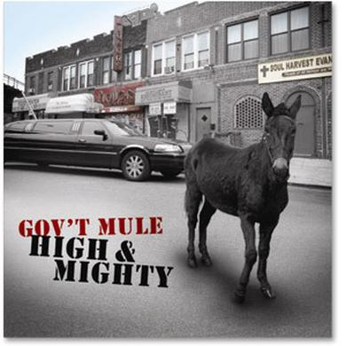 Gov't Mule - High & Mighty CD