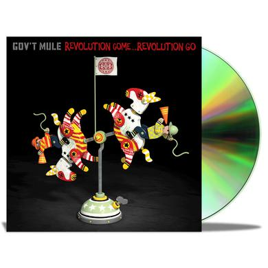 Gov't Mule Revolution Come...Revolution Go Deluxe Signed CD