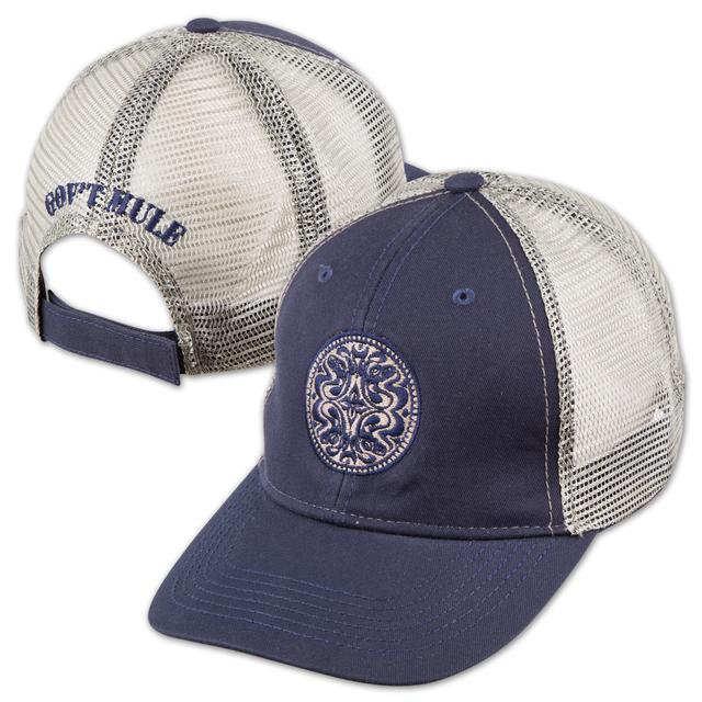Gov't Mule Navy/Silver Dose Hat