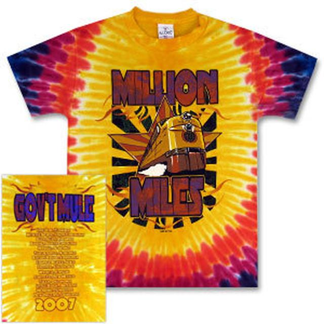 Gov't Mule 2007 Spring Tour Tie-Dye