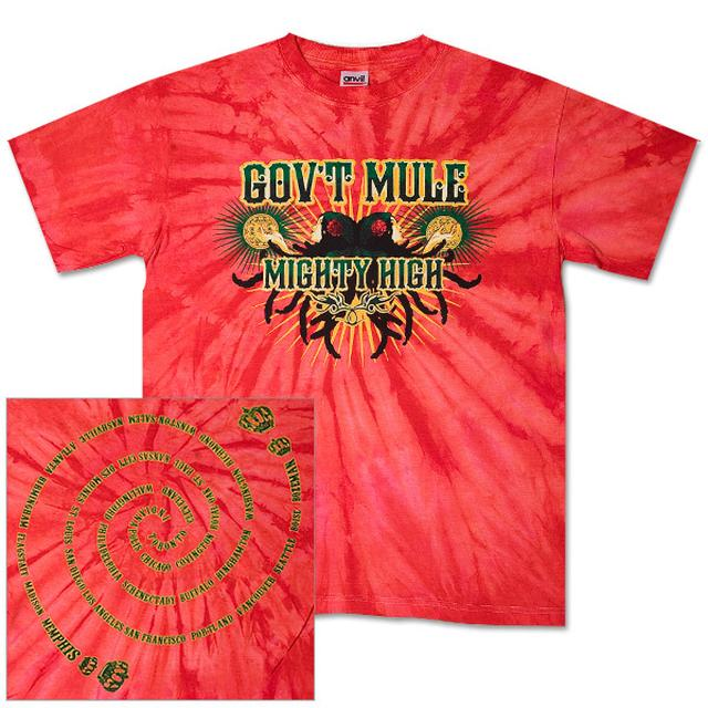 Gov't Mule 2007 Fall Tour Tie-Dye