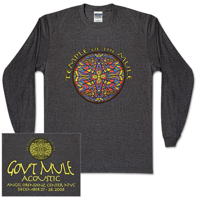 Gov't Mule 2008-2009 NYC Temple of the Mule Event Longsleeve T-Shirt