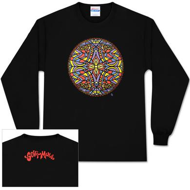 Gov't Mule Stained Glass Quatro Dose Logo Longsleeve T-Shirt