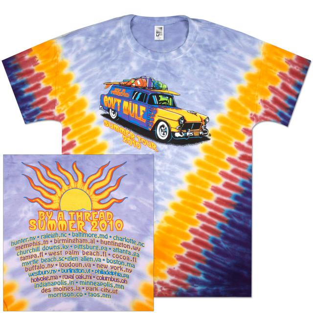 Gov't Mule 2010 Summer Tour Tie-Dye