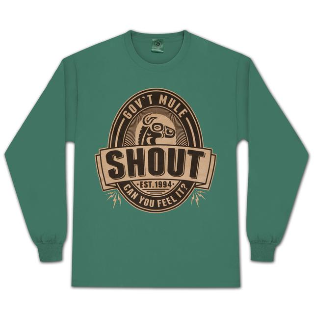 Gov't Mule Shout Beer Logo Long-Sleeve T-Shirt