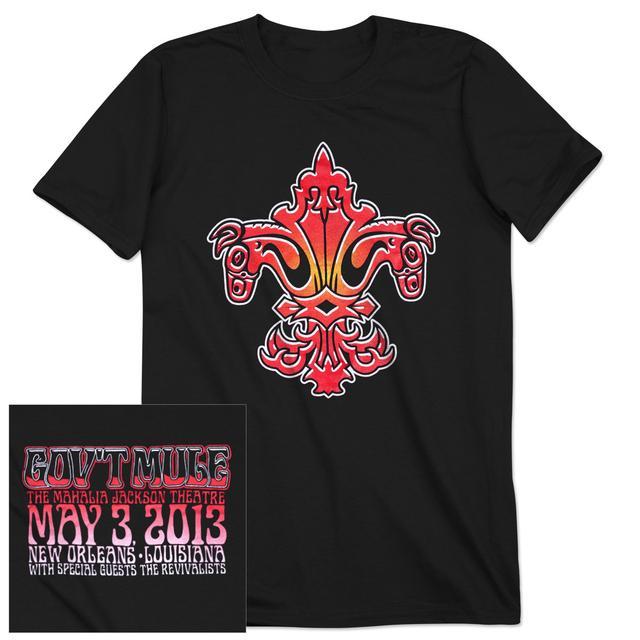 Gov't Mule New Orleans 2013 T-Shirt