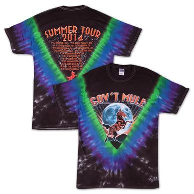 Gov't Mule 2014 Summer Tour Tie-Dye T-Shirt