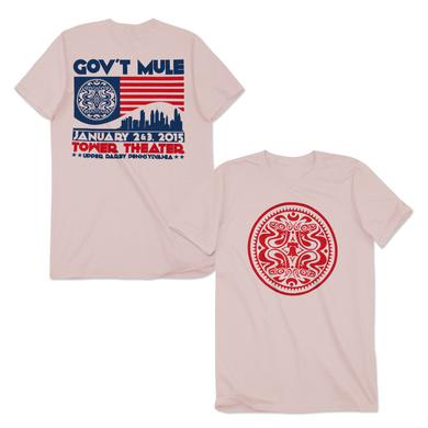 Gov't Mule Tower Theater Jan 2015 Event T-Shirt