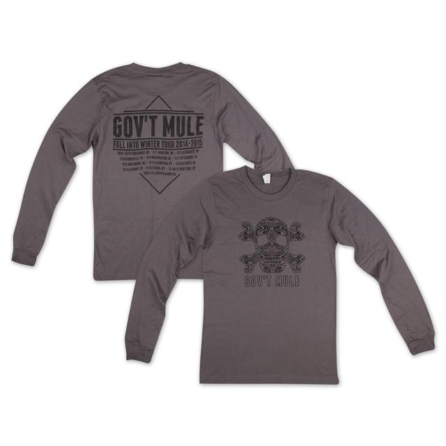 Govt Mule Mule & Crossbones Long-Sleeve T-Shirt