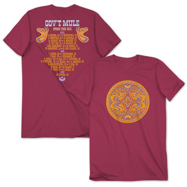 Gov't Mule 2015 Spring Tour T-Shirt