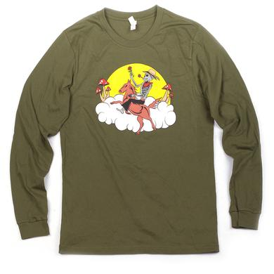 Govt Mule Green Skeleton Long-Sleeve