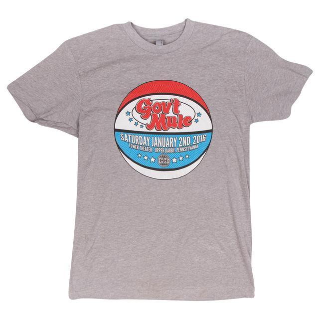 Govt Mule Philly 2016 Basketball Logo Shirt