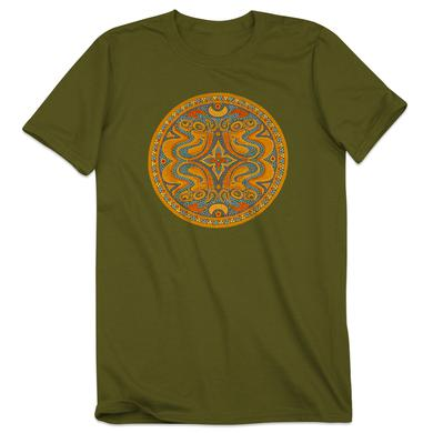 Govt Mule Green Beaded Dose Logo T-Shirt