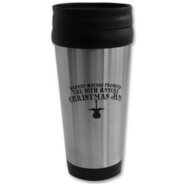 Govt Mule Warren Haynes 2006 Christmas Jam Travel Mug
