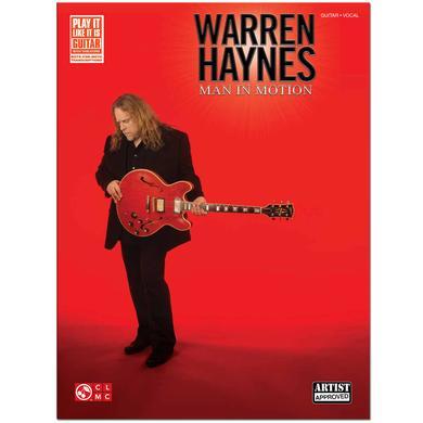 Govt Mule Warren Haynes – Man in Motion Songbook