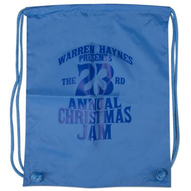 Govt Mule Warren Haynes 2011 Christmas Jam Drawstring Bag