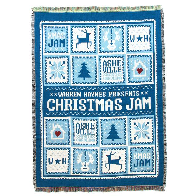 Govt Mule Warren Haynes 2015 Christmas Jam Throw Blanket