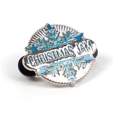 Govt Mule Warren Haynes 2015 Christmas Jam Pin