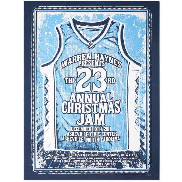 Govt Mule Warren Haynes 2011 Xmas Jam Poster