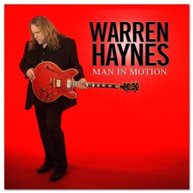 Govt Mule Warren Haynes - Man in Motion CD