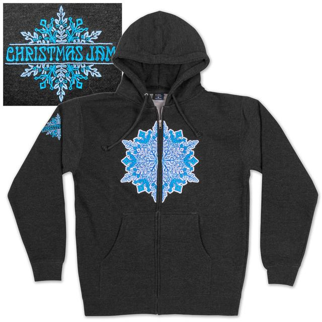 Govt Mule Warren Haynes 2012 Xmas Jam Zip-Up Sweatshirt