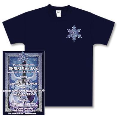 Govt Mule Warren Haynes 2002 Xmas Jam T-shirt
