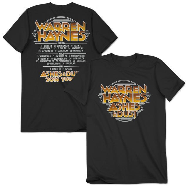 Govt Mule Warren Haynes 2016 Spring Tour T-Shirt