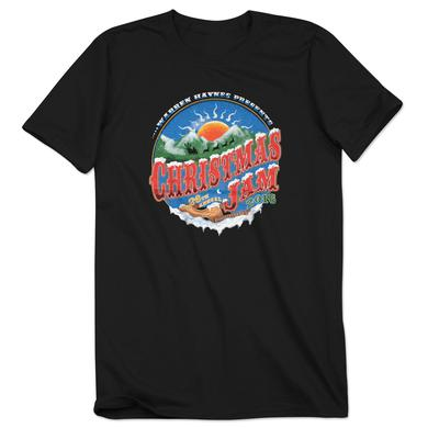 Govt Mule Warren Haynes 2016 Christmas Jam Mountain Sunset T-Shirt