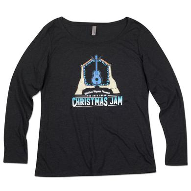 Govt Mule Warren Haynes 2016 Christmas Jam Women's Long Sleeve T-Shirt