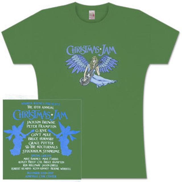 Govt Mule Warren Haynes 2007 Xmas Jam Ladies T-Shirt