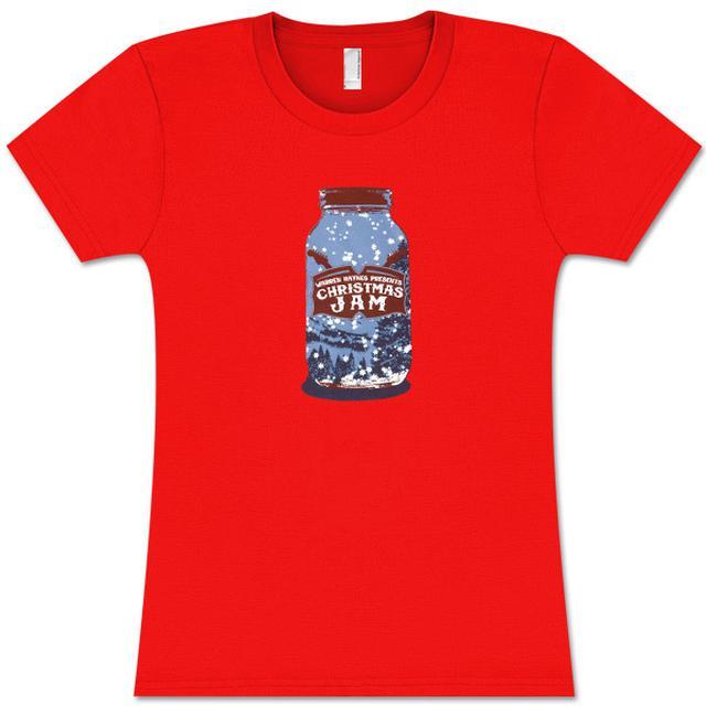 Govt Mule Warren Haynes 2009 Xmas Jam Jar Logo Ladies T-Shirt