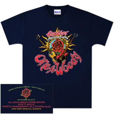 Govt Mule Warren Haynes 2010 Another One For Woody T-Shirt