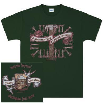 Govt Mule Warren Haynes 2007 Xmas Jam Hammer Forest Green T-Shirt