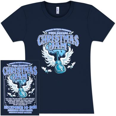 Govt Mule Warren Haynes 2011 Xmas Jam Ladies T-Shirt